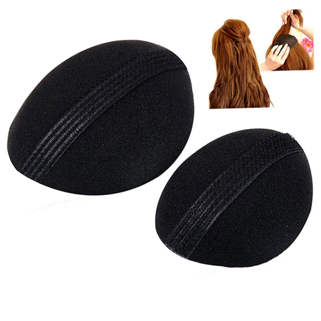 2pcs Woman Beauty Volume Hair Base Bump Styling Insert Pad Tool &F