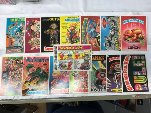 COMPLETE GARBAGE PAIL KIDS 2nd  SERIES GIANT 15 CARDS