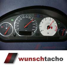 """Tachoscheibe für Tacho BMW E36 Benziner """"Rally"""" 260Km/h"""