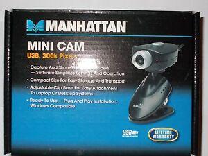 MANHATTAN MINI CAM USB 300K PIXELS DRIVER WINDOWS 7 (2019)