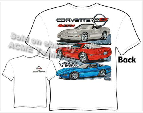 Corvette Shirts C4 Corvette Clothing Chevy T Shirts ZR-1 Chevrolet Apparel Vette