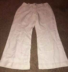 special price for special sales select for latest Women's East 5th White Summer Pants Sz 14 Linen rayon Blend ...