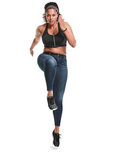 Athleta Sculptek Skinny Jean Sz 6 Dark Wash 82222