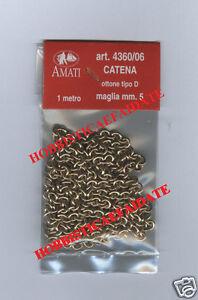 AMATI-4360-06-CATENA-OTTONE-mt-1-MAGLIA-mm-5-tipo-D