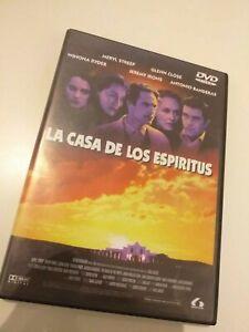 Dvd-LA-CASA-DE-LOS-ESPIRITUS-CON-MERYL-STREEP