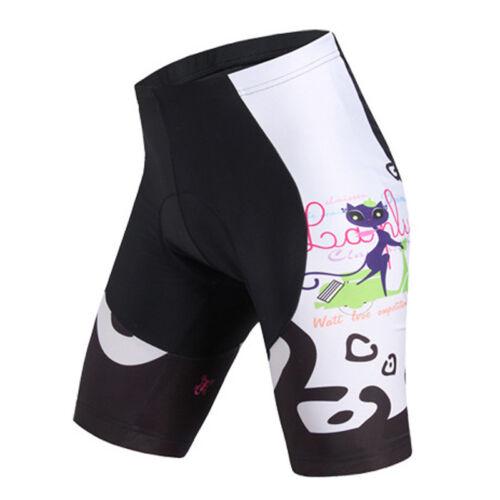 Women/'s Cycling Short Set Bicycle Jersey and Padded Bike Shorts Kit Orange S-5XL