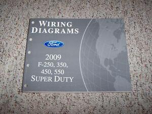 2009 Ford F350 Super Duty Electrical Wiring Diagram Manual ...
