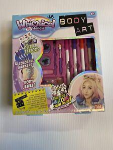 Whimsical By Wengie Body Art Glitter Tattoos Surprise Unicorn Youtube Ebay