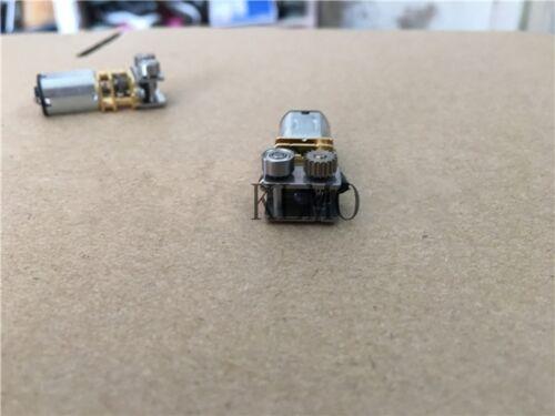 1Pcs DC12V N20 Micro Right Angle Metal Gear Box Motor 11RPM For 3D Printing Pen