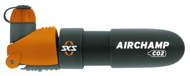 Sks Airchamp Pro Kartuschenpumpe Reversibel Fahrradpumpe Halterung Co² Aktuelle