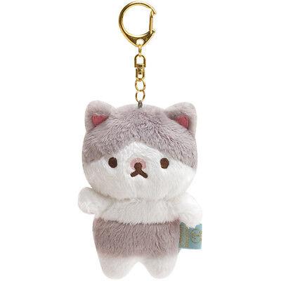 Plum chan Paw Punipuni Plush Keychain Corocoro Coronya San-X Japan