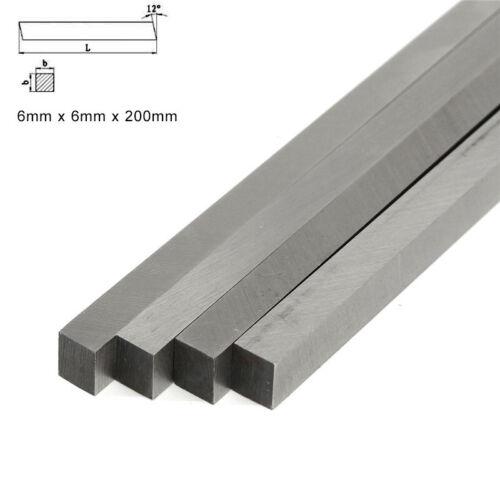 drehmaschine hss werkzeug stahl 200mm lang HSS Quadrat Drehbank 3*3mm-6*20mm