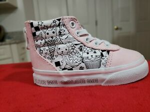Details about VANS HIGH TOP AUTHENTIC INFANT SIZE 5 SHOES FOR GIRLS TODDLERS. NEW