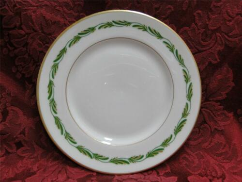 """s 6 1//4/"""" Franciscan Arcadia Green Green//Gold Leaves: Bread Plate"""