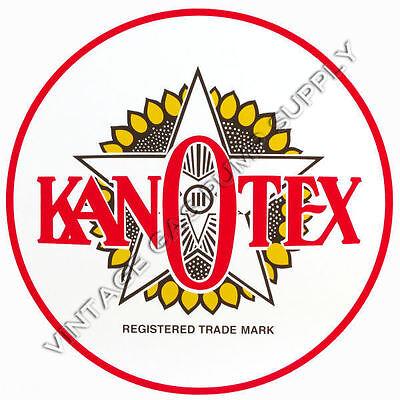 "Kanotex 12/"" Vinyl Decal DC204"