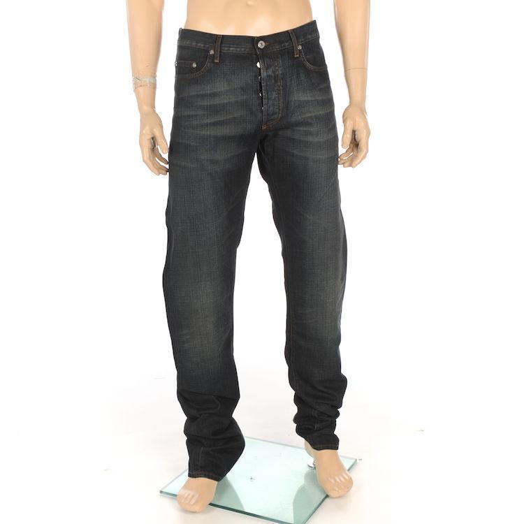 CHRISTIAN DIOR Herren Jeans Hose Luxus dunkelblau Gr.38 NEU MIT ETIKETT