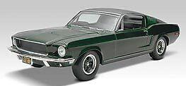 2008 discontinued revell 1 25 Bullitt 1968 Mustang GT Plastic Model Kit new in