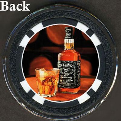 Jack Daniels Whiskey Poker Chip 8 Or 9 Ball Pocket Mark Ebay