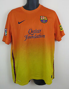 e8a21db31 Nike Barcelona 2012-13 Away Football Shirt Camiseta Maglia Soccer ...