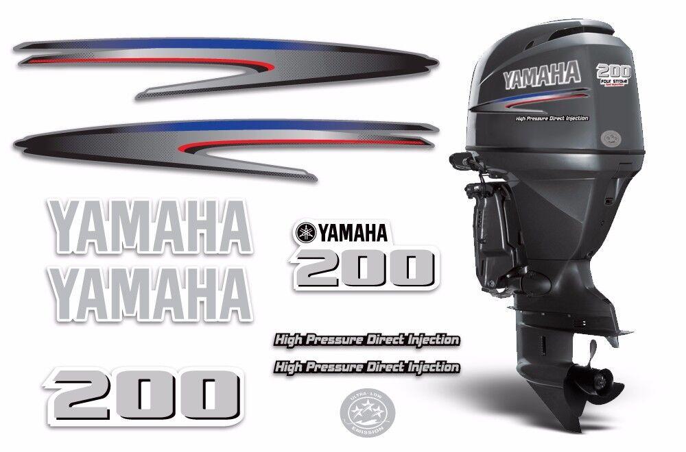 Yamaha 200 Hpdi Aufkleber Außenbordmotor Grafik 200hp Aufkleber USA Hergestellt