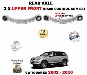 FOR-VW-TOUAREG-2002-2010-2-X-REAR-AXLE-UPPER-FRONT-TRACK-CONTROL-ARMS-SET