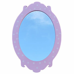 Childrens-oval-wall-mirror-kids-mirror-wooden-frame-girl-mirror-avalan-kids
