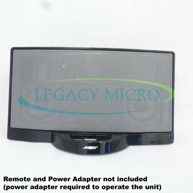 Bose SoundDock Original 120v Digital Music System Black 040250