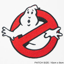 "GHOSTBUSTERS Movie Team Logo FULL SIZED 4"" Embroidered Iron-On Patch - NEW"