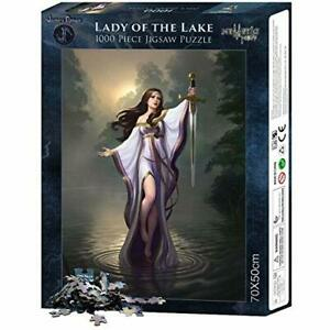 Jigsaw-Puzzle-LADY-OF-THE-LAKE-Gothic-Magic-Mystic-Design-1000-Piece