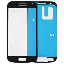 Samsung Galaxy S4 mini i9195 i9192/90 LCD Display Glas Scheibe schwarz + Kleber