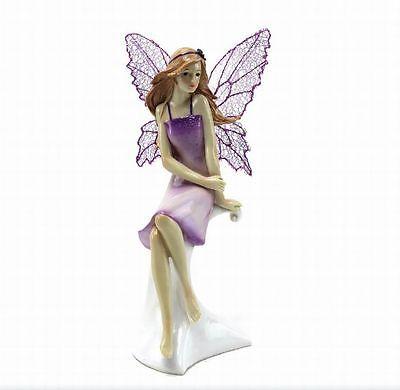 Lp24907 Lesser & Pavet Violet Fée Figurine Bonne Prix
