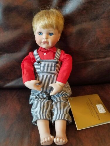 "12"" Doll Nicholas Georgetown Collectables by Joyce Reavey porcelain"
