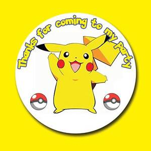 Image Is Loading POKEMON PIKACHU BIRTHDAY PARTY SWEET CONE GIFT GOODY