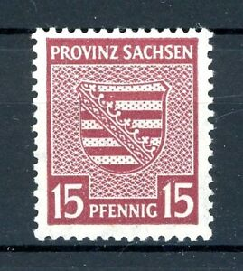 SBZ Provinz Sachsen MiNr. 80 X postfrisch MNH (Z898