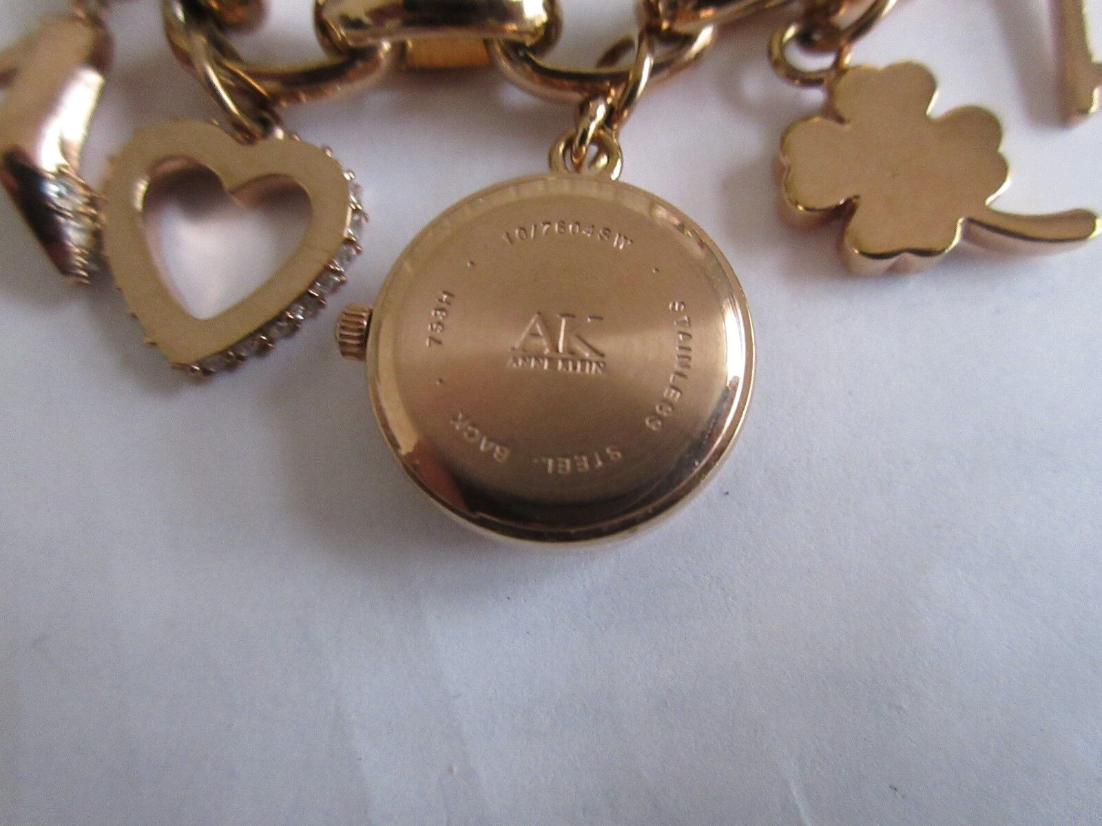Anne Klein Women's 10/7604SW , Swarovski Crystal Gold-T