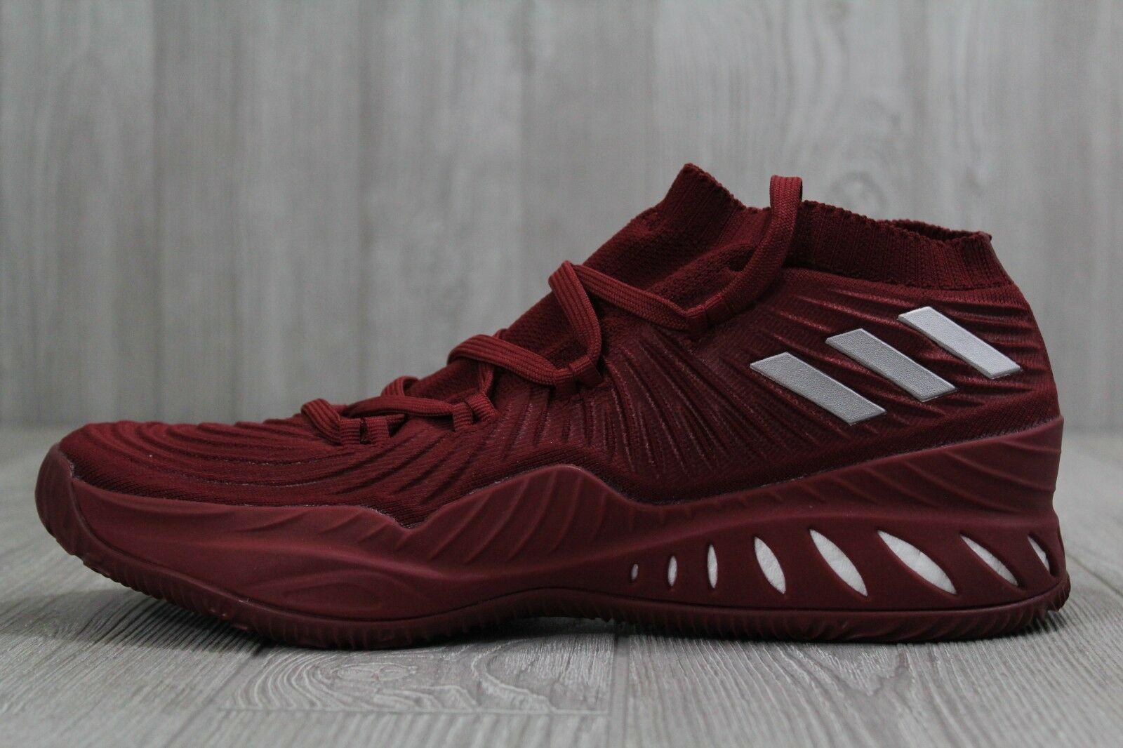 33 Crazy Explosive 2017 PK Primeknit Mens Basketball shoes Burgandy Sz 14, 15