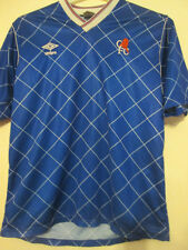 """Chelsea 1987-1989 Player Issue Home Football Shirt Size Medium 38""""-40"""" /35157"""