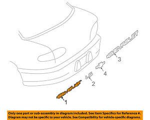Chevrolet GM OEM 14-17 SS Trunk Lid-Emblem Badge Nameplate 92259330