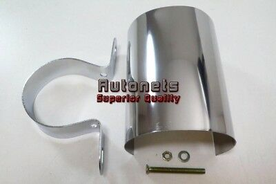 Chrome Universal Ignition Coil Cover With Mount Chevy Ford Chrysler Hot Rat Rod