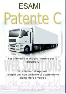 Manuale-Esami-Ed-2020-Patente-C-Libro-Guida-Esaustivo-amp-Immagini-Camion-TIR