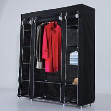 DOUBLE vestiti RAIL Guardaroba Armadio sezione indumento scaffali di stoccaggio appeso a casa