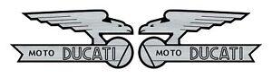 Logos-graves-AIGLE-Eagle-DUCATI-vintage-Scrambler-6cm-x-3cm-epaisseur-1mm
