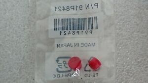 Lenovo-ThinkPad-TrackPoint-Red-Mouse-Caps-x2-mouse-nipple-covers-new-91P8421