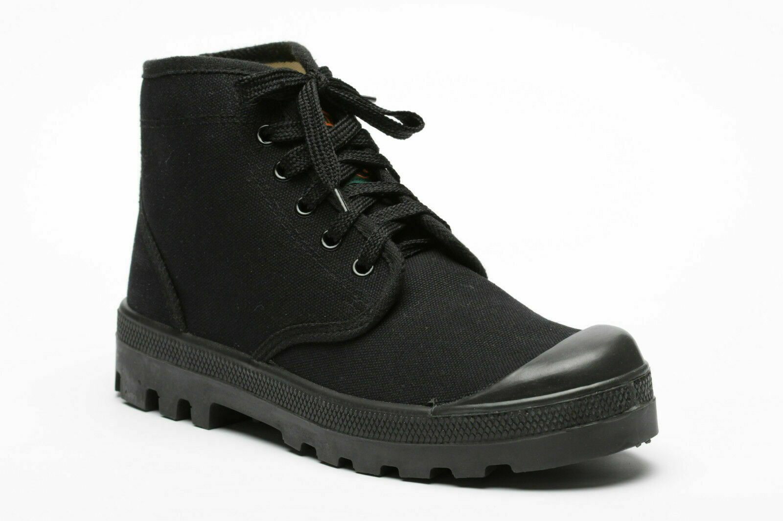 IDF Black Scout Commando canvas Boots