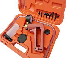 Hand Held Brake Bleeder Tester Set Bleed Kit Vacuum Pump Car Motorbike Deluxe