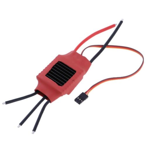 50A RC Brushless ESC OPTO Motor Speed Controller with 5V 3A BEC for Airplane