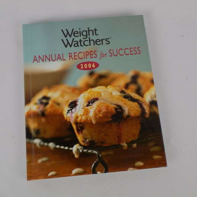 Weight Watchers Annual Recipes for Success 2006 Hardback Cookbook Salads Soups