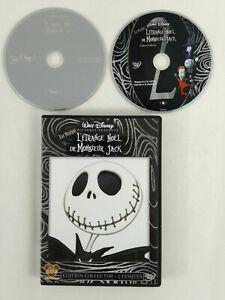 DVD-Disney-VF-L-Etrange-Noel-de-Monsieur-Jack-Tim-Burton-2-DVD-Envoi-suivi