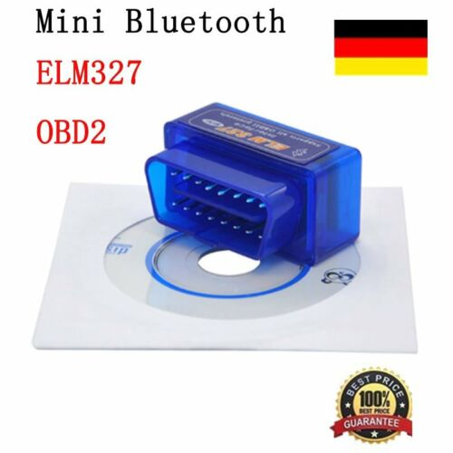 OBD2 Mini ELM327 V2.1 Car Bluetooth Scanner Android Torque Auto Scanner ES350TVG