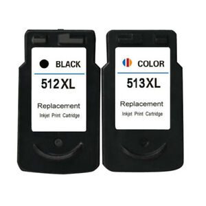 2x-Ink-Cartridges-PG-512-CL-513-XL-For-Canon-Pixma-MP240-MP250-MP260-MP270